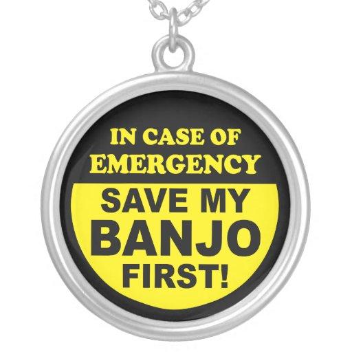 Ahorre mi collar del banjo