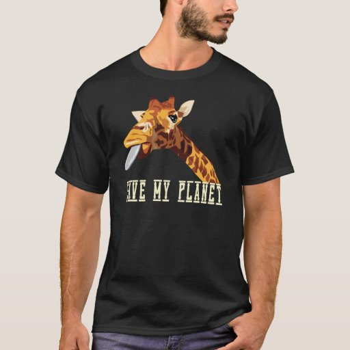 Ahorre mi jirafa del planeta playera