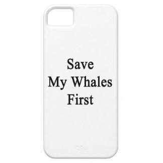 Ahorre mis ballenas primeras iPhone 5 Case-Mate cárcasa
