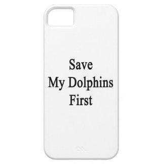 Ahorre mis delfínes primeros iPhone 5 Case-Mate carcasas