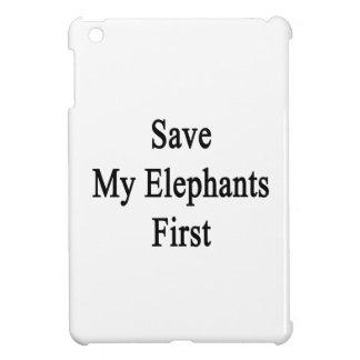 Ahorre mis elefantes primeros