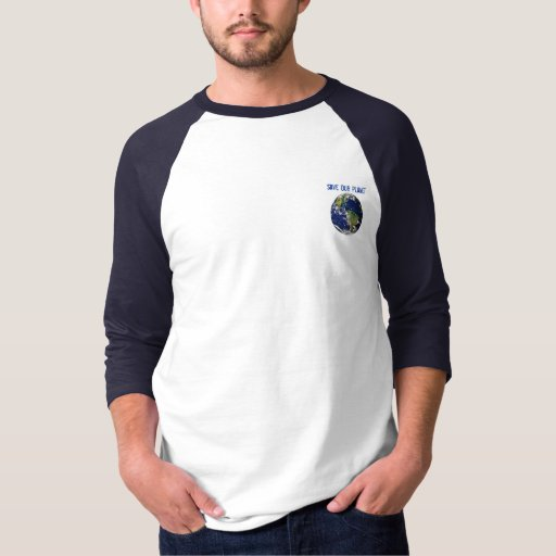 Ahorre nuestra camiseta del planeta playeras