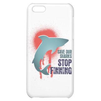 Ahorre nuestra parada Finning de los tiburones