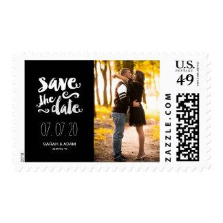 Ahorre nuestra reserva de la foto de la fecha el | sellos postales