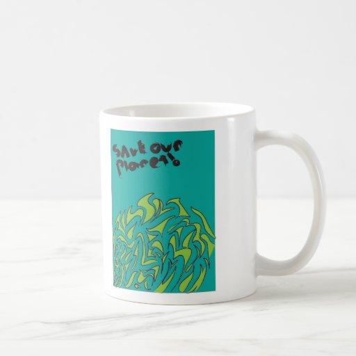 Ahorre nuestra taza del planeta