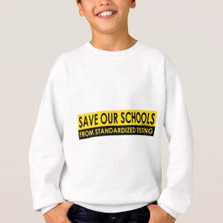 Ahorre nuestras escuelas poleras