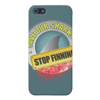 Ahorre nuestro caso del iphone de Finning de la pa iPhone 5 Protector