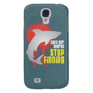 Ahorre nuestro caso del iphone de Finning de la pa Funda Para Galaxy S4