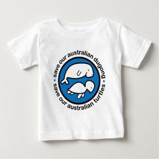 Ahorre nuestro dugong y tortugas playera