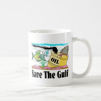 ahorre nuestro golfo taza de café