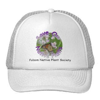 Ahorre nuestro gorra de las plantas nativas
