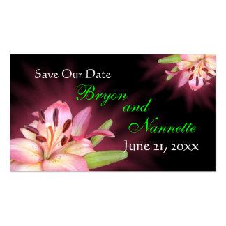 Ahorre nuestro personalizar de la invitación de tarjetas de visita