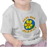 Ahorre nuestro planeta camiseta