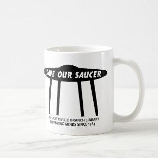¡Ahorre nuestro platillo! Taza De Café