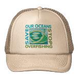 Ahorre nuestros océanos gorros bordados