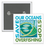 Ahorre nuestros océanos pin