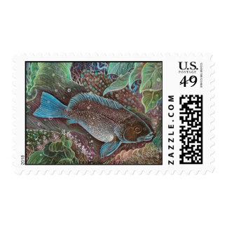 ¡Ahorre nuestros océanos! sello