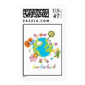 Ahorre nuestros sellos de la tierra