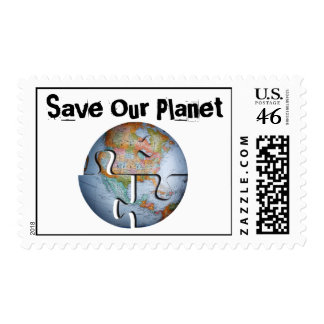 Ahorre nuestros sellos del planeta