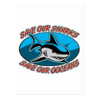 Ahorre nuestros tiburones postal