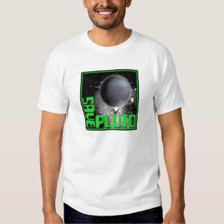 Ahorre Plutón (el verde retro) Polera