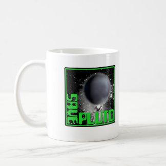 Ahorre Plutón (el verde retro) Taza De Café