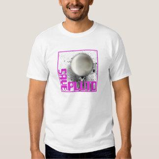 Ahorre Plutón (la púrpura retra) Camisas