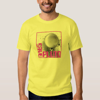 Ahorre Plutón (la púrpura retra) Poleras