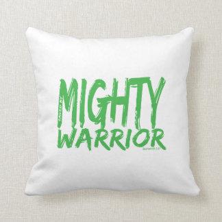Ahorre por el guerrero poderoso almohadas