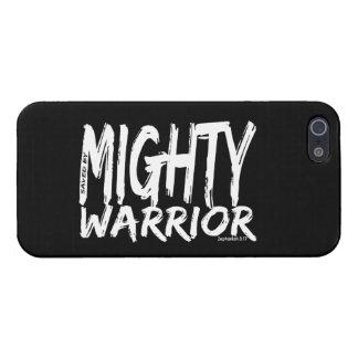 Ahorre por el guerrero poderoso iPhone 5 funda