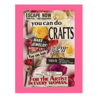 Ahorre su cordura con los artes tarjetas postales