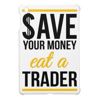 Ahorre su dinero comen a un comerciante