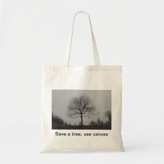Ahorre un árbol bolsa tela barata