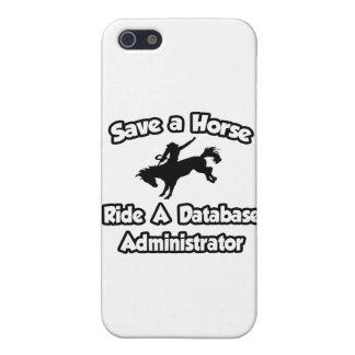 Ahorre un caballo, monte a un administrador de bas iPhone 5 protectores