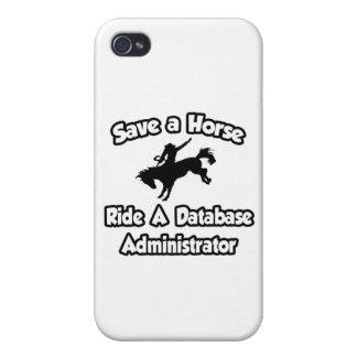 Ahorre un caballo, monte a un administrador de bas iPhone 4 carcasas