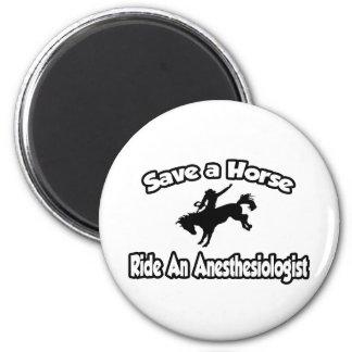 Ahorre un caballo, monte a un Anesthesiologist Iman De Frigorífico