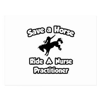 Ahorre un caballo. Monte a un médico de la Postal