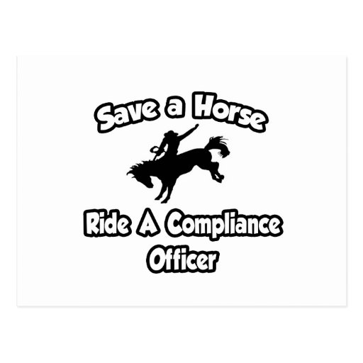 Ahorre un caballo, monte a un oficial de la confor tarjeta postal