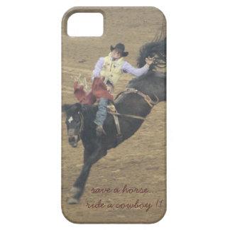 ¡Ahorre un caballo, monte a un vaquero! caso iPhone 5 Carcasa