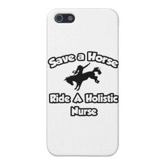 Ahorre un caballo, monte a una enfermera holística iPhone 5 carcasas