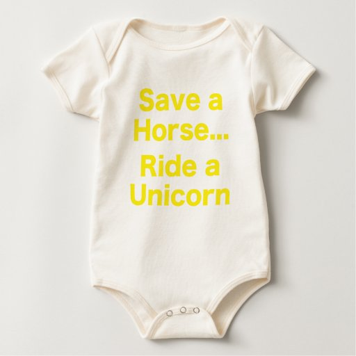 Ahorre un caballo… Monte un unicornio Mameluco