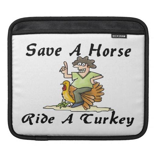 Ahorre un paseo del caballo una Turquía Funda Para iPads