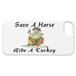 Ahorre un paseo del caballo una Turquía Funda Para iPhone SE/5/5s