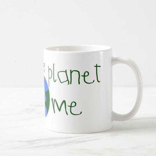 Ahorre un poco de planeta para mí tazas de café