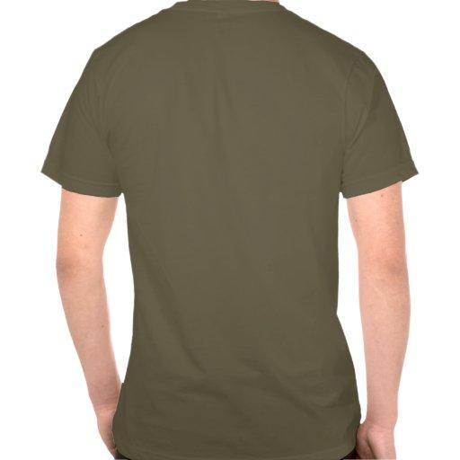 Ahorre un rinoceronte, tire a un cazador furtivo camiseta