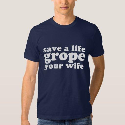 Ahorre un tanteo de la vida su esposa poleras
