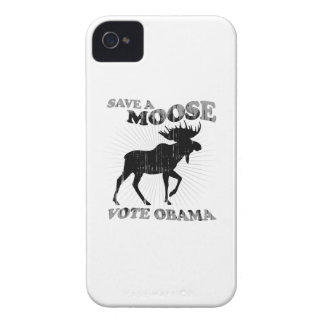 AHORRE un VOTO OBAMA Faded.png de los ALCES iPhone 4 Case-Mate Carcasas