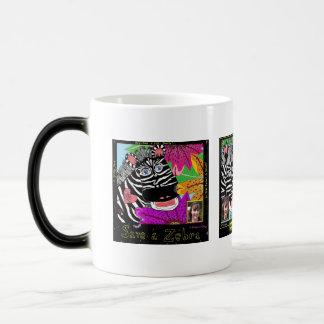 Ahorre una cebra tazas de café