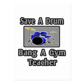 Ahorre una explosión del tambor… un profesor de gi postales