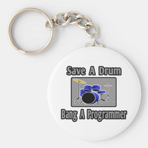 Ahorre una explosión del tambor… un programador llavero personalizado